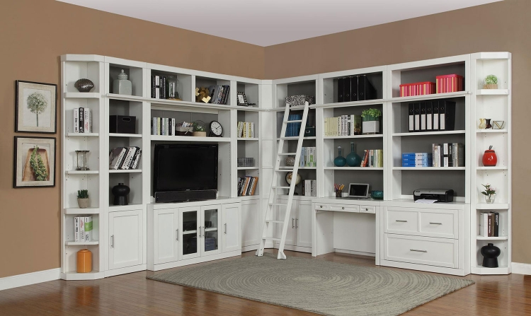 Catalina Home Office Library Bookcase Set 6