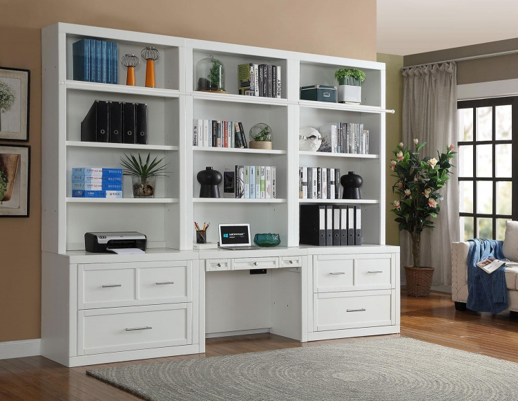 Catalina Home Office Library Bookcase Set 4