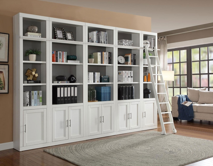 Catalina Library Bookcase Set 1