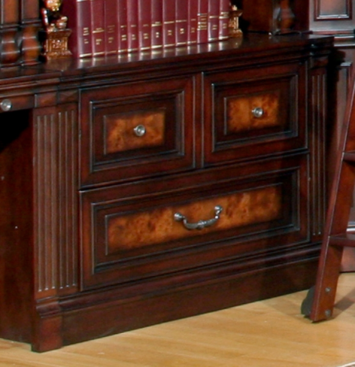 Parker House Corsica Library 2 Drawer Lateral File