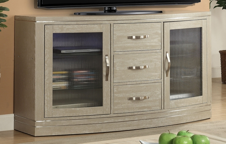 Cosmopolitan 65-inch TV Console with LED Light