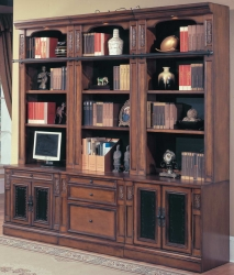 DaVinci Home Office Suite 6pc Open Wall System - Parker House