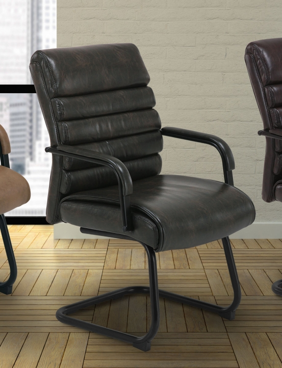Signature DC-200G-EM Guest Desk Chair - Ember