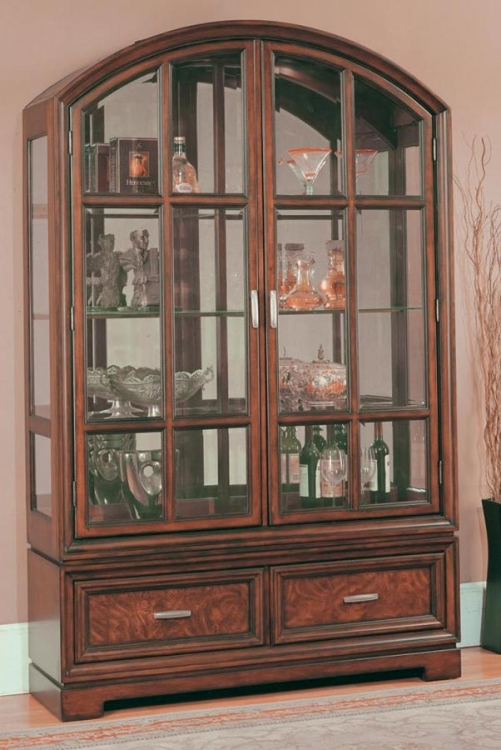 Grand Manor Alicante Curio Cabinet - Parker House