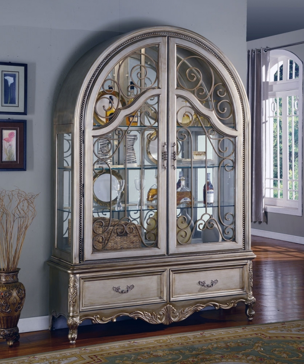 Grand Manor Allure Collectors Cabinet - Parker House