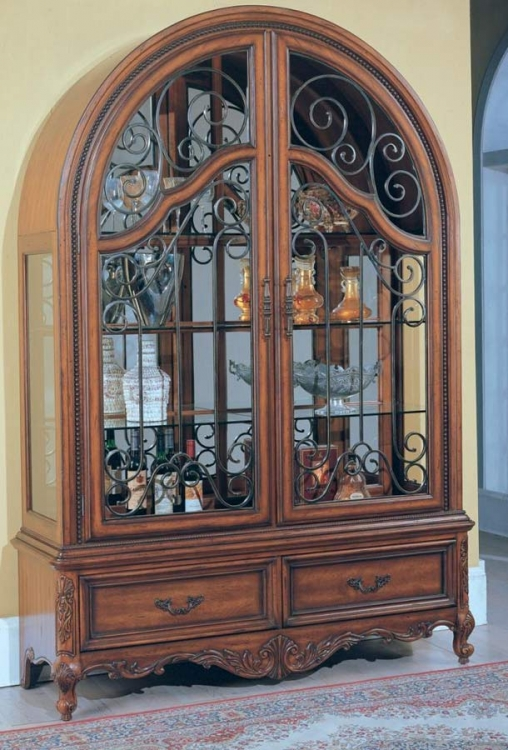 Grand Manor Granada Curio Cabinet - Parker House
