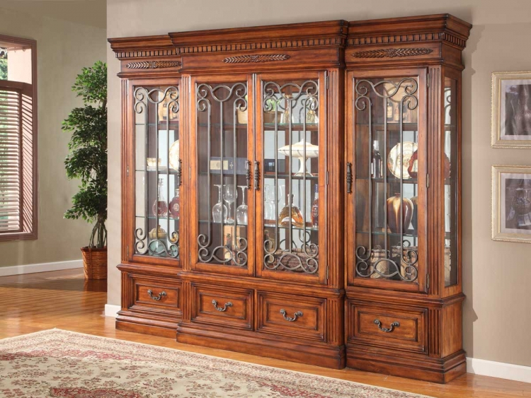 Grand Manor Granada 4 Pc Display Wall Curio
