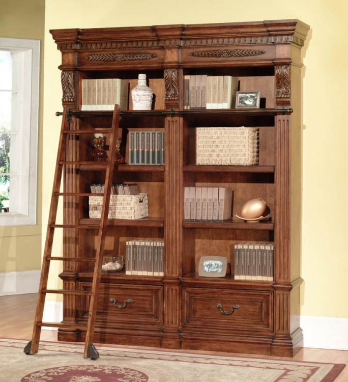 Grand Manor Granada 2 Piece Bookcase - Parker House