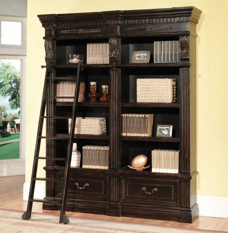 Grand Manor Palazzo 2 Piece Bookcase - Parker House