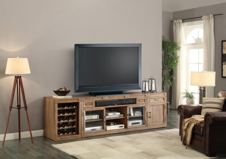 Hickory Creek TV Console with Storage