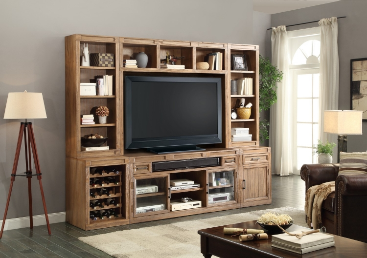 Hickory Creek Entertainment Wall Unit C