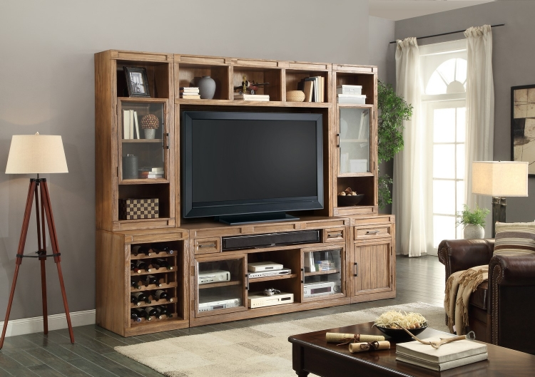 Hickory Creek Entertainment Wall Unit B