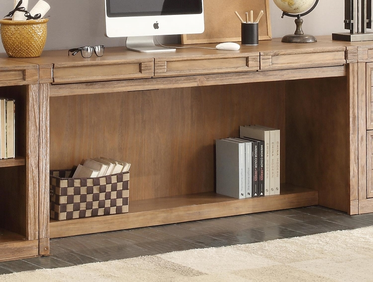 Hickory Creek 63-inch In-Wall Desk with Power Center