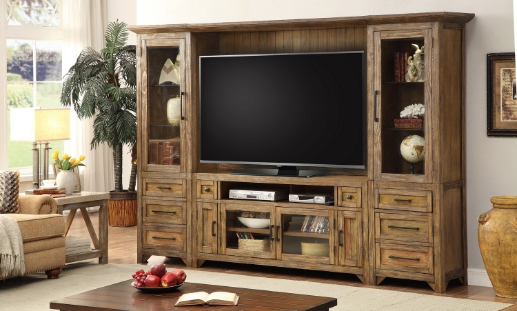 Hunts Point 4pc Entertainment Wall