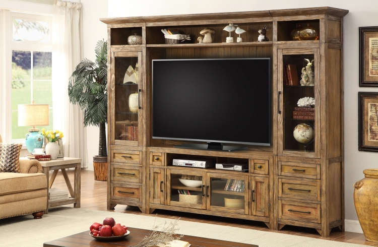 Hunts Point 5pc Entertainment Wall