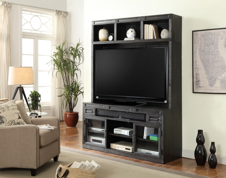 Hudson Entertainment Wall Unit A