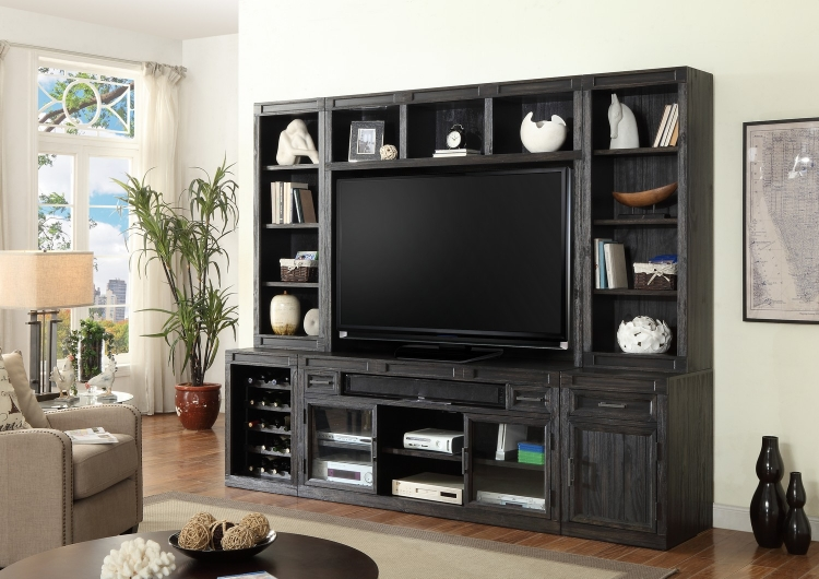 Hudson Entertainment Wall Unit B