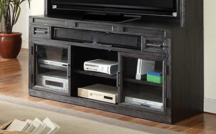 Hudson 63-inch TV Console with Power Center