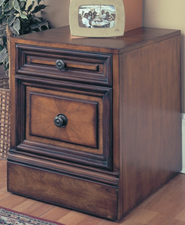 Parker House Huntington Rolling File Cabinet