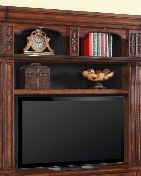 Leonardo 60in Bookcase TV Hutch