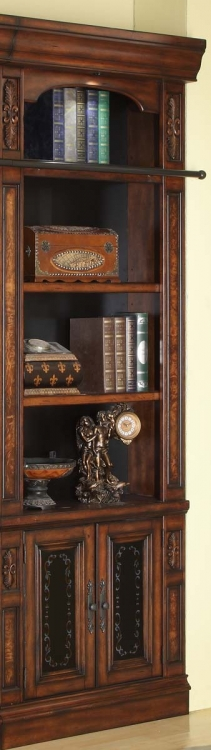 Leonardo 32in Open Top Bookcase