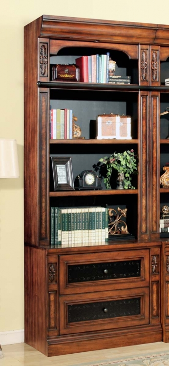 Parker House Leonardo Lateral File and Hutch 2Pc