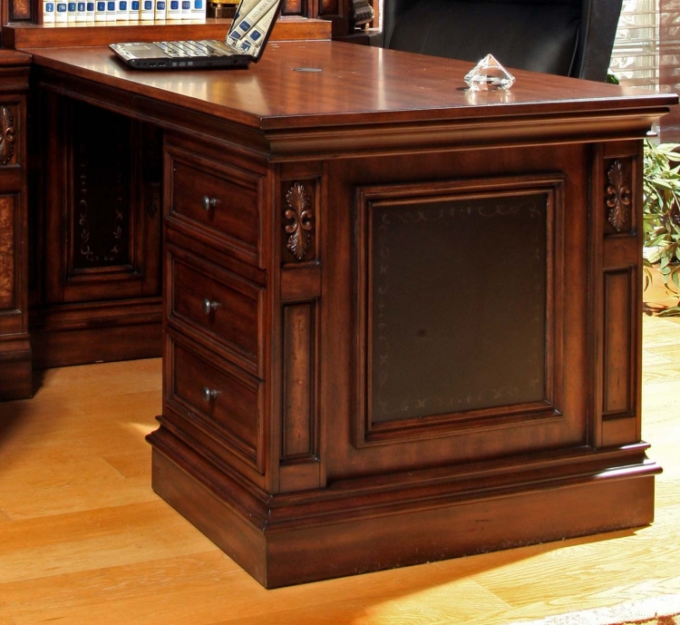 Parker House Leonardo Peninsula Desk and File