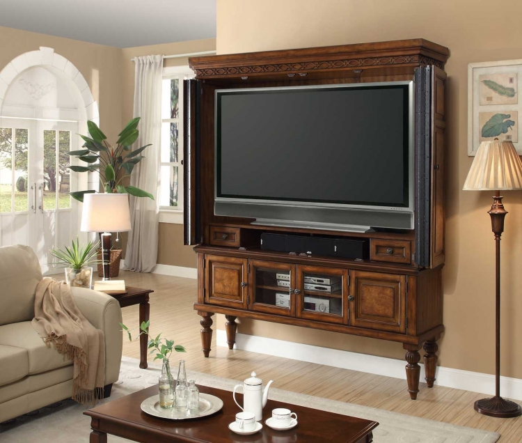 Leonardo 60in Entertainment Center Armoire