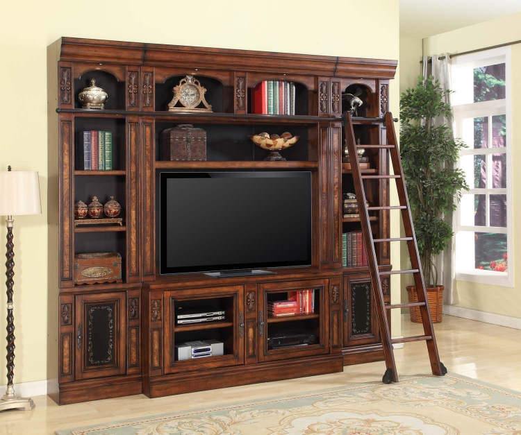 Leonardo Entertainment Center Space Saver Wall Unit