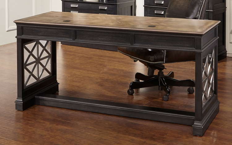 Lincoln Park Writing Desk - Vintage Ash