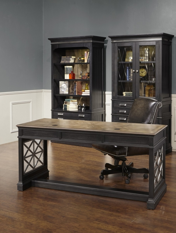 Lincoln Park Home Office Set 2 - Vintage Ash