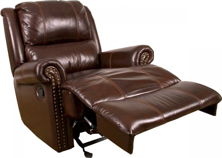 Aries Motion Glider Recliner Chair - Cocoa - Parker Living