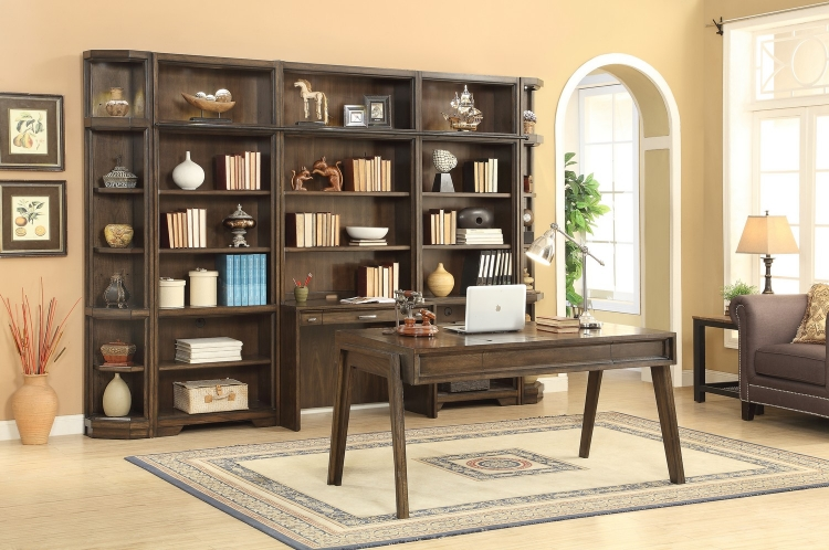 Meridien Home Office Library Bookcase Wall Unit - A
