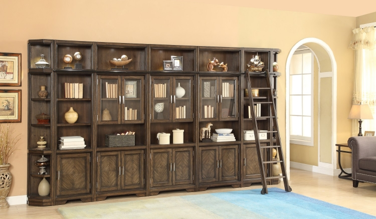 Meridien Library Bookcase Wall Unit - B