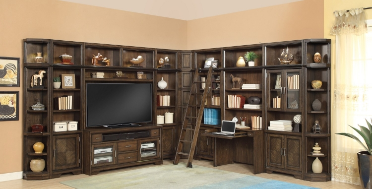 Meridien Home Office Library Bookcase Wall Unit - C