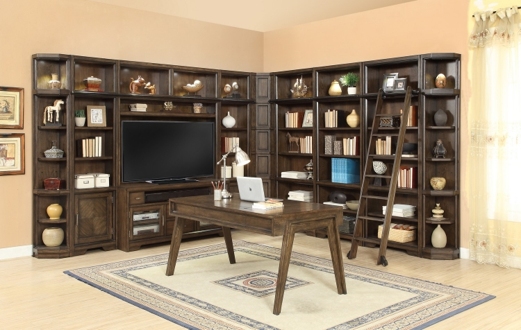 Meridien Home Office Library Bookcase Wall Unit - E