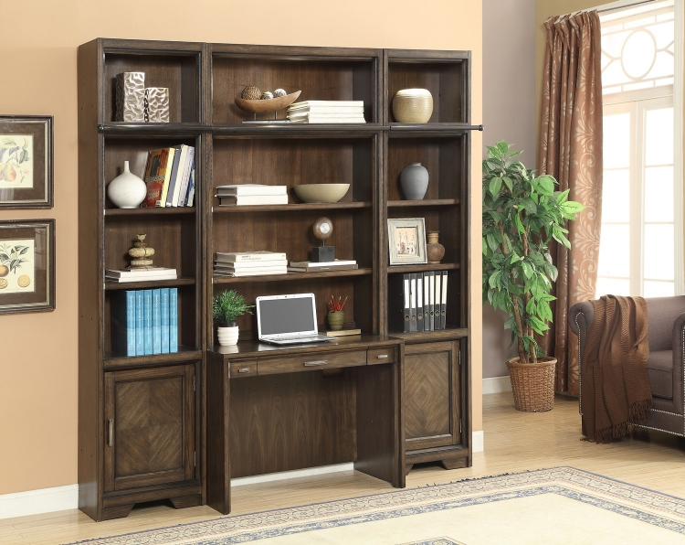 Meridien Home Office Library Bookcase Wall Unit - F