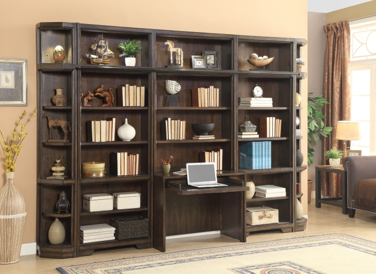 Meridien Home Office Library Bookcase Wall Unit - G