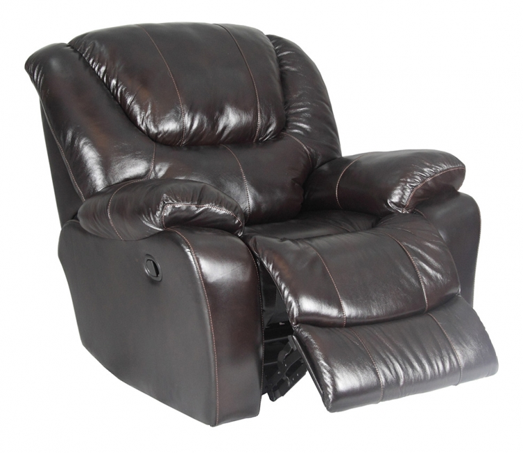 Hercules Glider Recliner - Blackberry - Parker Living