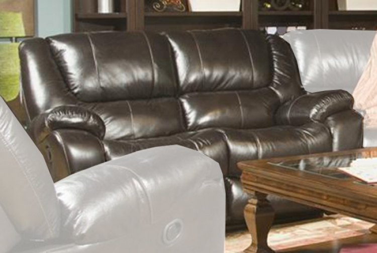 Hercules Dual Reclining Loveseat - Blackberry - Parker Living