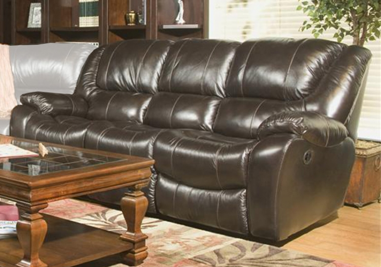 Hercules Dual Reclining Sofa - Blackberry - Parker Living