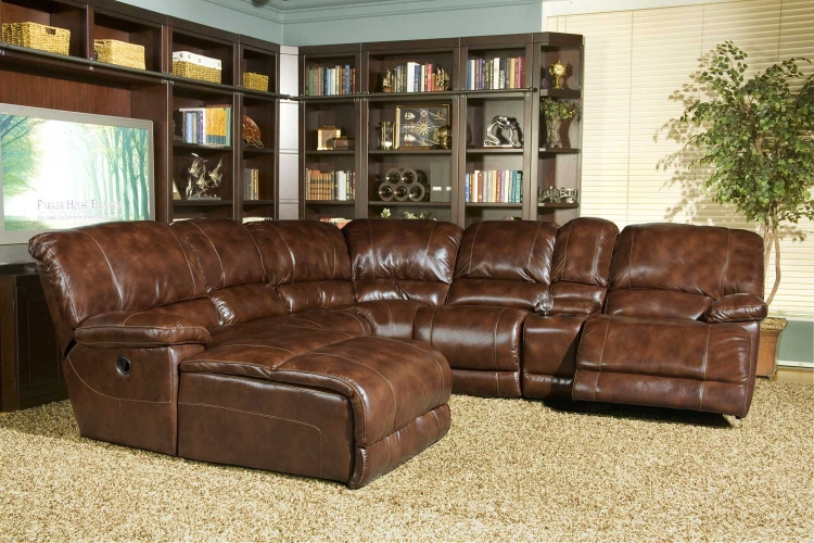 Mars Sectional Sofa Set - Coffee - Parker Living