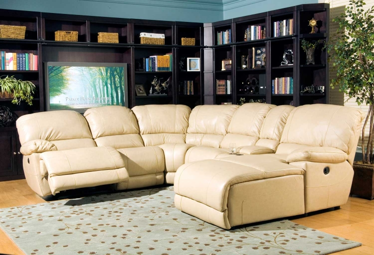 Mars Sectional Sofa Set - Wheat - Parker Living