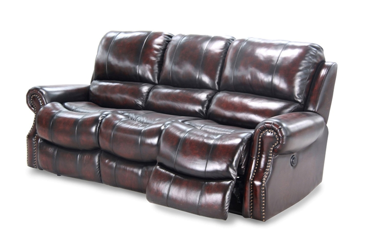 Midas Power Sofa Set - Burnt Umber - Parker Living