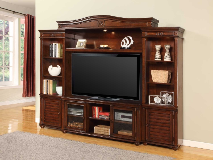 Morro Bay 4 Pc Entertainment Wall Unit