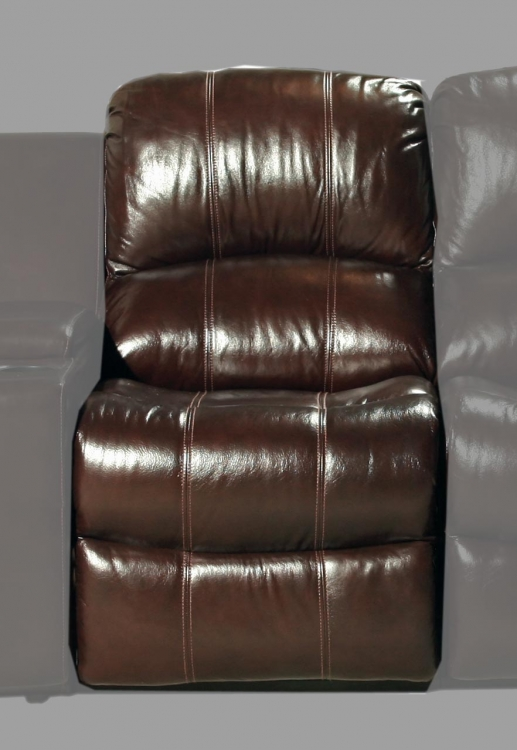 Poseidon Armless Power Recliner - Cocoa - Parker Living