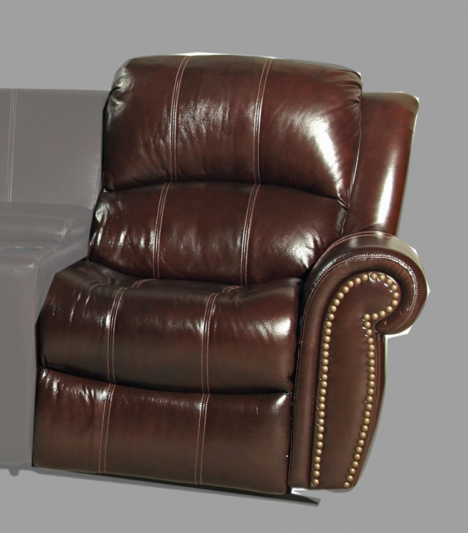 Poseidon RAF Power Recliner Chair - Cocoa - Parker Living