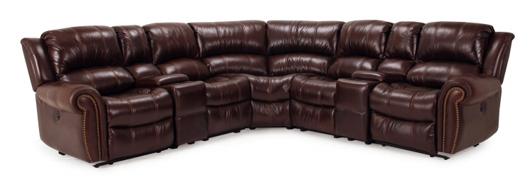 Poseidon Sectional Sofa Set - Cocoa - Parker Living