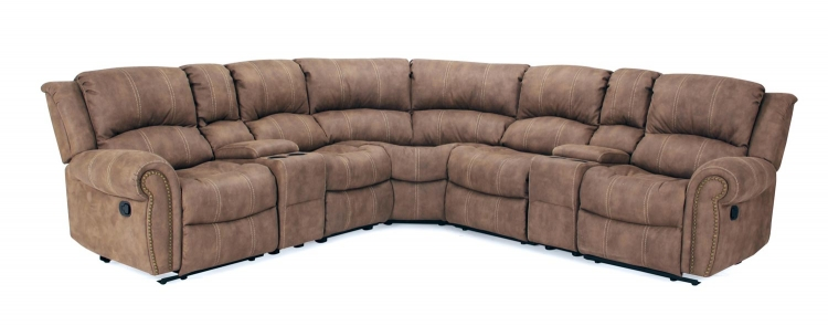 Poseidon Sectional Sofa Set - Kahlua - Parker Living