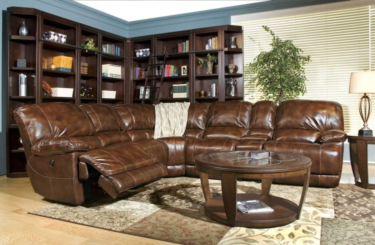 Mars Sofa Sectional - Coffee - Coffee - Parker Living